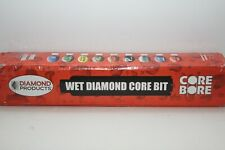 Diamond Products 3 Wet Diamond Segment Hd Core Bore Rock Concrete Drill Bit Hol