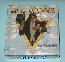 ALICE COOPER welcome to my nightmare Promo Box for JAPAN mini lp cd (no CD)