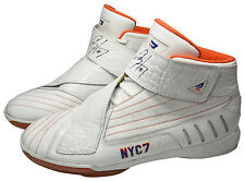 2009 Al Harrington New York Knicks Game-Used & Dual Autographed Sneakers