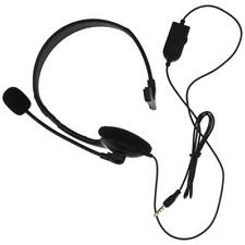 3.5mm Chat Gaming Headset Stereo Headphone Wired W/Mic For PS4 PlayStation 4