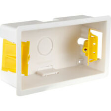 5 x 2 Gang 35mm Double Dry Lining Plasterboard Cavity Wall Mounting Back Box