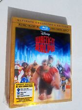 Wreck-It Ralph  Blu Ray 3D DVD 4 Disc Set Ultimate Collectors Edition Sealed