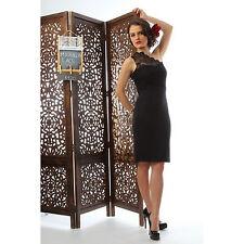 Rayon Patternless Mini Dresses for Women