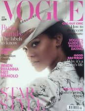 VOGUE Magazine BRITISH UK April 2016 Rihanna Manolo Blahnik NEW