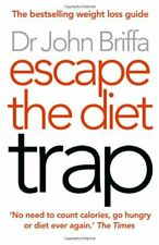 Escape the Diet Trap by Briffa  New 9780007447763 Fast Free Shipping+-
