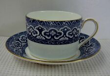 Ralph Lauren EMPIRE BLUE Cup & Saucer Set NEW UNUSED Multiple Available