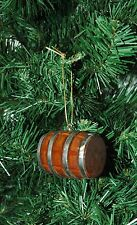 Wooden Barrel, Cooper, Cooperage, Wine, Beer, Christmas Ornament
