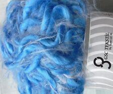 2 X 100g hilo voluminoso Lana, Azul, tejer/crochet/tejido