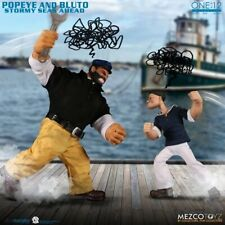 Mezco One: 12 Collective Action Figures: 1:12 Scale Popeye and Bluto Stormy Seas