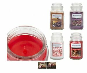 2 Pack Scented Candle Jar Assorted Scents Fragrance Home Gift Christmas Xmas 5oz