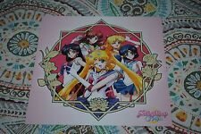 Sailor Moon Crystal NYCC Exclusive Lithograph Art Print Pretty Guardian Anime