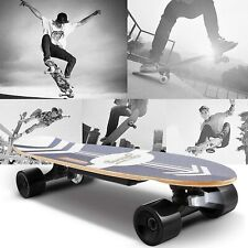 350W Electric Skateboard Power Motor Cruiser Maple Long Board with Remote US
