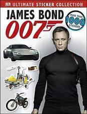 James Bond Ultimate Sticker Collection (James Bond Sticker Books), Good Conditio