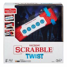 Hasbro Scrabble Twist Crossword Pass & Play Word Game New B2140 Free Shipping