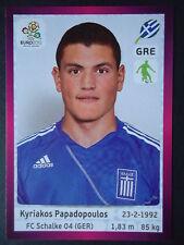 PANINI 90 Kyriakos Papadopoulos Grecia euro 2012 Poland-Ucraina