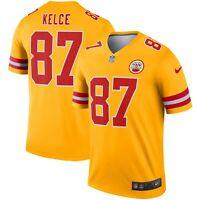 New Nike Kansas City Chiefs Travis Kelce #87 Inverted Legend Edition Jersey