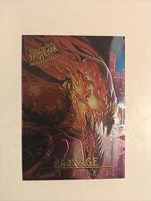 1995 Fleer Ultra Marvel Spiderman Masterpieces Carnage - Dave Devries NM/M