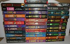 VC Andrews~Lot of 37 books with free shipping!