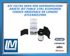 KIT FILTRI HEPA PER ASPIRAPOLVERE ARIETE JET FORCE 2791 ECOPOWER AT5166052900