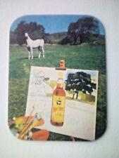 Vintage WHITE HORSE  /  SCOTCH WHISKEY - Cat No'57 Beermat / Coaster