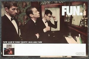 Fun. Some Nights 2012 Double-sided PROMO POSTER