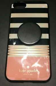 KATE SPADE NEW YORK STRIPED IPHONE 6S HARDSHELL CELL PHONE CASE / COVER