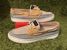 SPERRY TOP-SIDER : Women's Tri-Tone Canvas Deck / Boat Shoes : UK 7.5