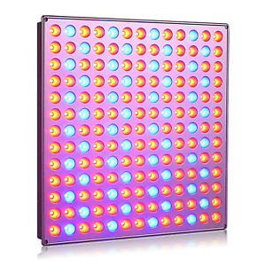 Roleadro Plant Grow Light, 75W Led Growing Light with Red Blue Grow Lights for