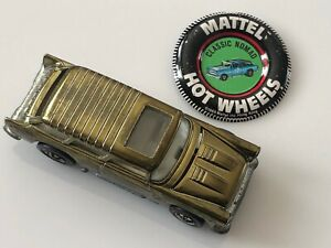 Original Hot Wheels Redline 1969 CLASSIC NOMAD WITH BUTTON