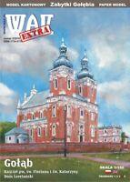 GENUINE PAPER-CARD MODEL KIT - GOŁĄBSt. Florian's Church