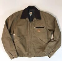 Carhartt Mens Utility Work Jacket Sz Large Rancher Outdoors Excellent Ships Fast