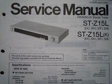 TECHNICS ST-Z15L SINTONIZZATORE STEREO ST-Z15LK Manuale di servizio diagramma di cablaggio parti