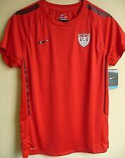 Women's Nike DRI-FIT USA Soccer Training Jersey L NWT 407378