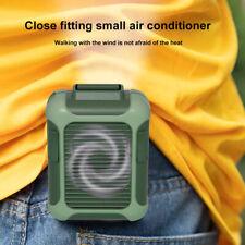 Ленивый талия подвесной мини-вентилятор охлаждения спорт отдых портативный Usb перезаряжаемый 3 режим