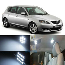 6x Premiu LED Package Interior Lights White For 04-09 Mazda 3 Sedan Hatchback