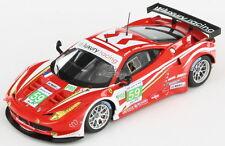 Ferrari 458 Italia GT2 #59 Luxury Racing Le Mans 2012 1:43 Fujimi FJM1343002