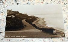 Vintage  RP Postcard of the Western Parades Easatbourne, circa 1928