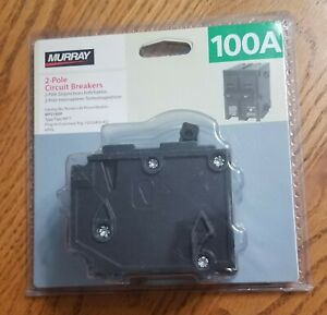 Murray MP2100P 100 Amp Double-Pole Type MP-T Circuit Breaker **NEW SEALED**