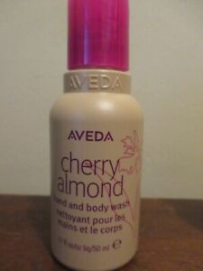 Aveda Cherry Almond Hand and Body Wash 1.7 oz ~ 50 ml