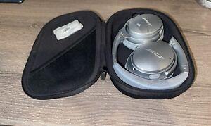 Used Mint**Bose QuietComfort 35 II Wireless Headphones Noise Cancellation Silver