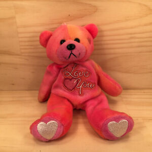 """GIFTED BEARS """"Pink Sunset"""" Cute Little I Love You Teddy Bear Soft Toy Friend"""