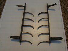 Ancienne barre de défense,en fer forgé,grille cloture herse pique