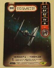 Star Wars Destiny Tournament Kit Tie Fighter Alternate Art Card!  Never used!