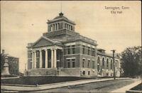Torrington CT City Hall c1910 Postcard