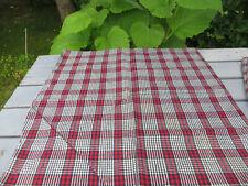 "Unused  Cottage Pillowcase Euro Sham handwoven Linen  28 "" by  27 "" German"