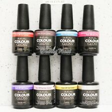 Artistic Nail Design Colour Gloss SET OF 8 UV LED Gel Polish Collection ACG Kit