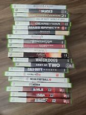 Xbox 360 Games Lot Bundle (#2) 21 games
