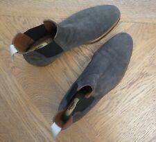 COMMON PROJECTS Boots Chelsea Boots SUEDE GRAU Gr. EU 44