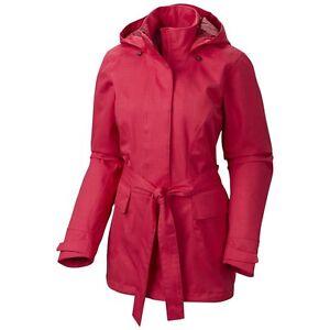 Mountain Hardwear Women's Celina Trench / Ski Jacket, Bright Rose / Size M NEW!