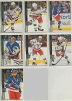 NEW YORK RANGERS ~ 2020-21 Upper Deck Series 1 Team Set ~ 7 Hockey Cards ~ FOX